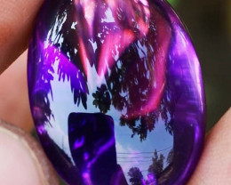Certifed !! Natural Amethyst  Borneo Indonesia Top Luster