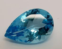 4.85Crt Blue Topaz Natural Gemstones JI65