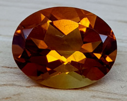 1.65Crt Madeira Citrine Natural Gemstones JI65