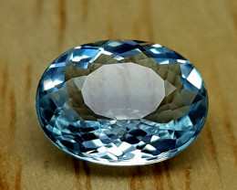 0.95Crt Aquamarine  Natural Gemstones JI65