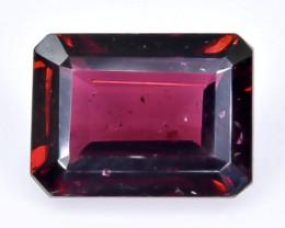 2.26 Crt Natural Rhodolite Garnet  Faceted Gemstone.( AB 7)