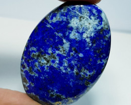 46.45 ct Natural Lapiz lazuli Oval Cabochon  Gemstone
