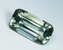 7.75 ct AAA Quality Fantastic Fancy Cut Natural Green Amethyst