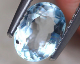 1.08Ct Natural Aquamarine Oval Cut Lot LZ6897
