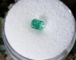 certified Sandwana mine Emerald Australian cut