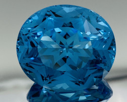 67.47 ct Swiss  Blue Topaz Gemstone