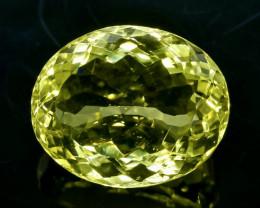 15.35 Crt  Lemon Quartz Faceted Gemstone (Rk-88)