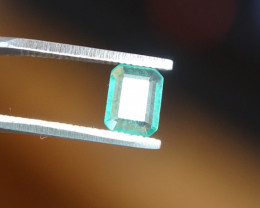0.69ct Fine Green Emerald  - SI Minor Oil -