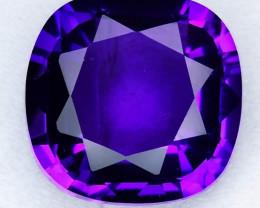 Amazing Borneo Amethys Violetish Purple very clean Rare stone jewelry.