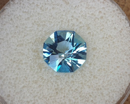 4,24ct Sky blue Topaz - Master cut!