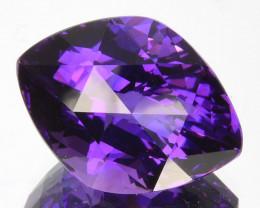 ~CUSTOM CUT~ 9.90 Cts Natural AAA Purple Amethyst Fancy Kite Cut Bolivia
