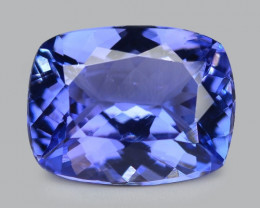 2.77 Cts Amazing Rare Violet Blue Color Natural Tanzanite Gemstone
