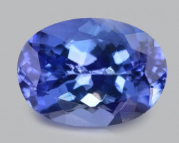 *No Reserve*2.61 Cts Amazing rare Violet Blue Color Natural Tanzanite
