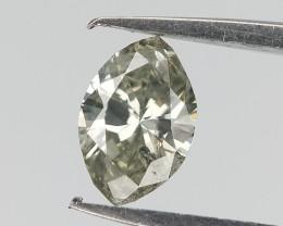 0.21 cts , Grey Diamond , Fancy Color Diamond , Marquise Brilliant Diamond