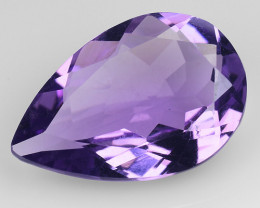 3.90 Cts Sparkling  Amethyst Brilliant Color and Cut ~ AM4