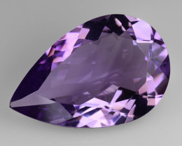 3.86 Cts Sparkling  Amethyst Brilliant Color and Cut ~ AM6