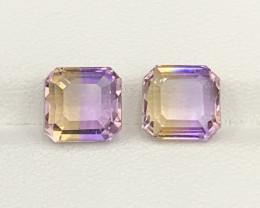 6.68 Carats Ametrine Gemstones