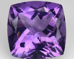 4.06 Cts Sparkling  Amethyst Brilliant Color and Cut ~ AM10