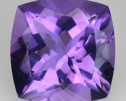 3.85 Cts Sparkling  Amethyst Brilliant Color and Cut ~ AM11