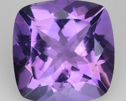 3.69 Cts Sparkling  Amethyst Brilliant Color and Cut ~ AM13