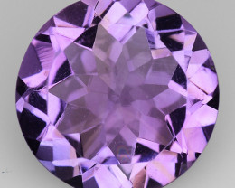 2.86 Cts Sparkling  Amethyst Brilliant Color and Cut ~ AM17