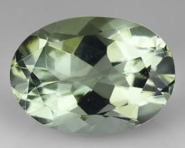 5.68 Cts Prasiolite Stunning Cut and Luster ~ PR4