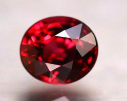 Rhodolite 2.05Ct Natural VVS Red Rhodolite Garnet D0607/A5