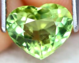 Tourmaline 1.19Ct VVS Heart Cut Natural BiColor Tourmaline B0403