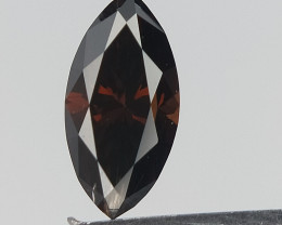 0.19 cts , Extremely rare Red diamond , Natural Diamond , Marquise Brillian