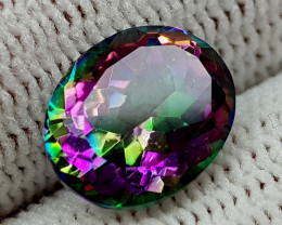 2.35CT MYSTIC QUARTZ BEST QUALITY GEMSTONE IIGC016
