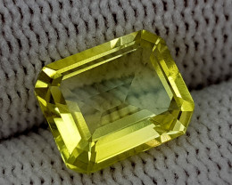3CT LEMON QUARTZ BEST QUALITY GEMSTONE IIGC016