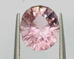 3.6 ct padparadscha color with fine cutting Tourmaline Gemstone