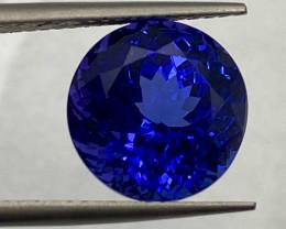 8.21 ct AAAA Plus with fine cutting Tanzanite Gemstone/AIG Certified