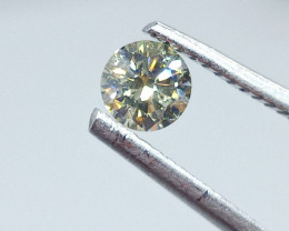 0.40ct  Fancy Light  Green  Diamond , 100% Natural Untreated