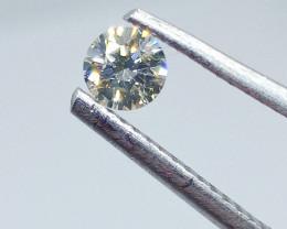 0.265ct  Faint Green Diamond , 100% Natural Untreated