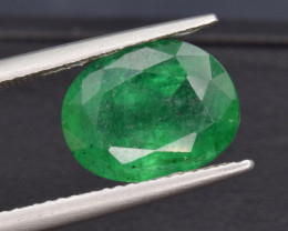 Zambian Natural Rare Emerald 4.12Cts Well Cut Gemstone