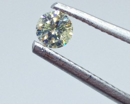 0.24ct Fancy Light greenish Yellow   Diamond , 100% Natural Untreated