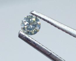 0.18ct  K - SI Diamond , 100% Natural Untreated
