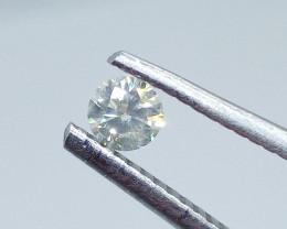 0.19ct  K-SI Diamond , 100% Natural Untreated