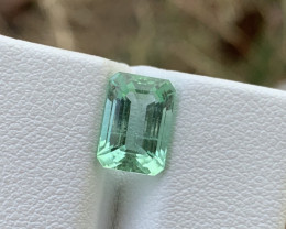 2.95 carats Bluish Green colour Tourmaline Gemstone  From Afghanistan jabba