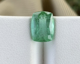 3.30 Carats Green colour Tourmaline Gemstone From Afghanistan jabba mine