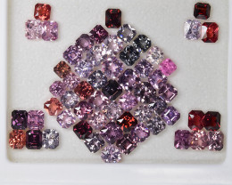 49.30 Cts Fabulous Beautiful Collection Natural Burmese Spinel