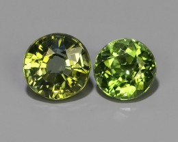 1.20 CTS-ALLURING TOP FANCY PARTY COLOR GREEN TOURMALINE EXCELLENT!!
