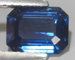 1.05 CTS EXCELLENT BLUE~TOURMALINE OCTAGON MOZAMBIQ ~$400.00