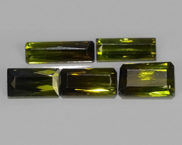 5.40 CTS AWESOME NATURAL OCAGON GREEN TOURMALINE GEM!!