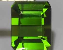 1.25 Cts EXQUISITE RARE GREEN NATURAL TOURMALINE~EXCELLENT!!