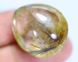 47.29cts Natural Golden Rutiled Quartz / MA740