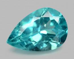 1.56 Cts Natural Green Apatite Loose Gemstone