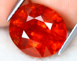 Mandarin Spessartite 7.19Ct Oval Cut Natural Spessartite Garnet B0503