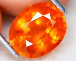 Mandarin Spessartite 3.14Ct Oval Cut Natural Spessartite Garnet A0508
